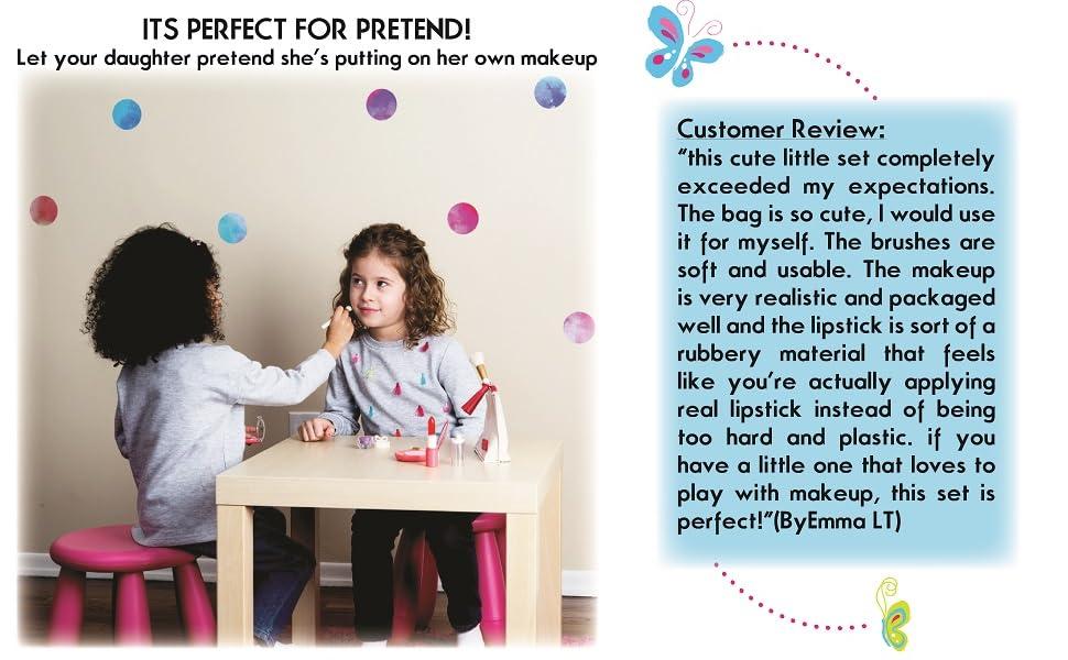 girls makeup kit for kids toddler toys for girls age 3