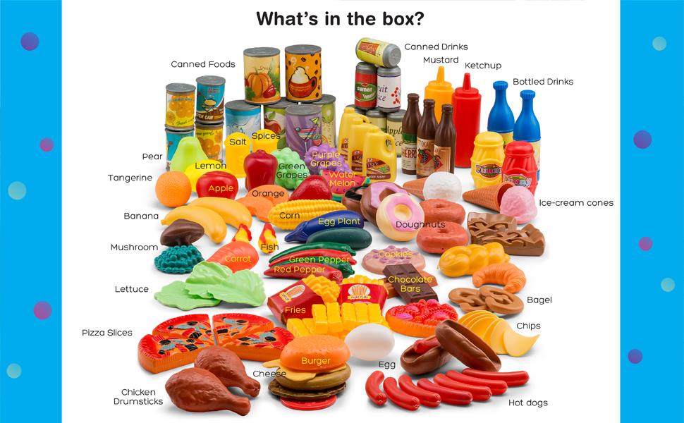 kids play food  toy food