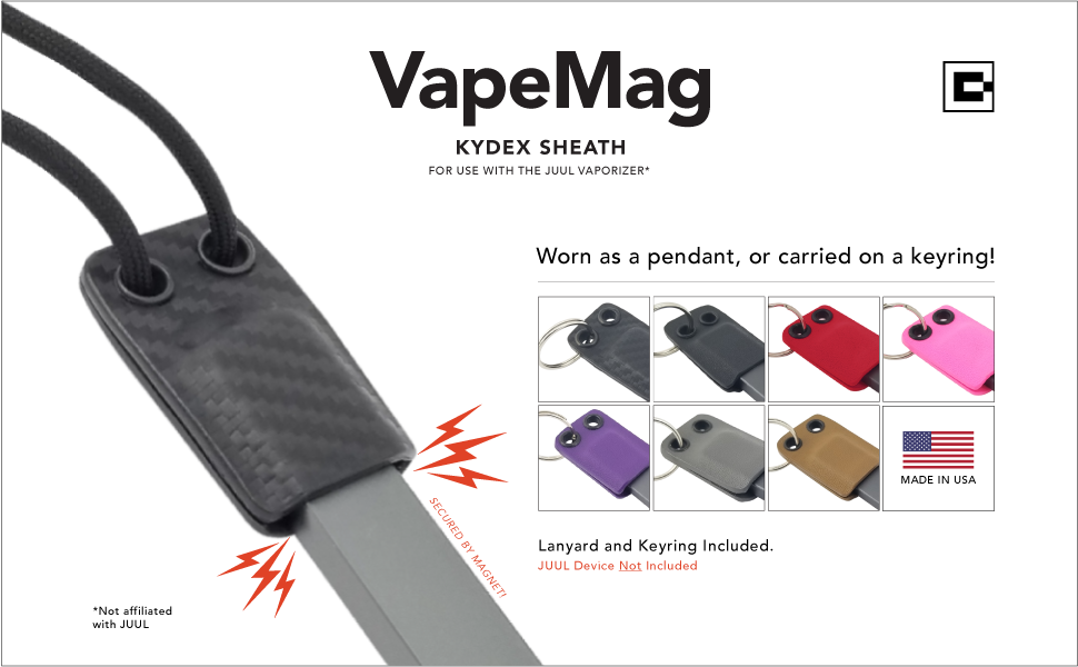 Magnetic Anti-Loss Necklace | Keychain for JUUL Vape E-Cig