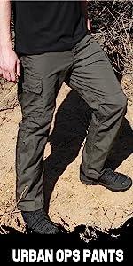 YKK Zipper LA Police Gear Elite Urban Ops Tactical Cargo Pants Elastic WB