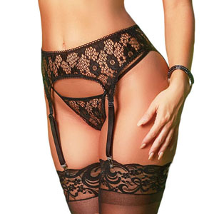 Precious lace makes this bra set more bewitching and dissolute. Enjoy the kind of being cherish