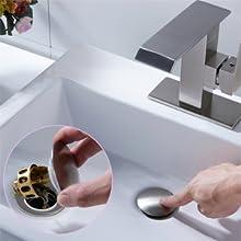 Filtro de drenaje de rebote para lavabo universal 2 en 1 Tap/ón y filtro de cocina para ba/ñera Nuevo filtro de drenaje para lavabo Lavable Evita que la alcantarilla se atasque