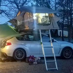 tuff stuff delta, rooftop tent, rtt, overland, camping