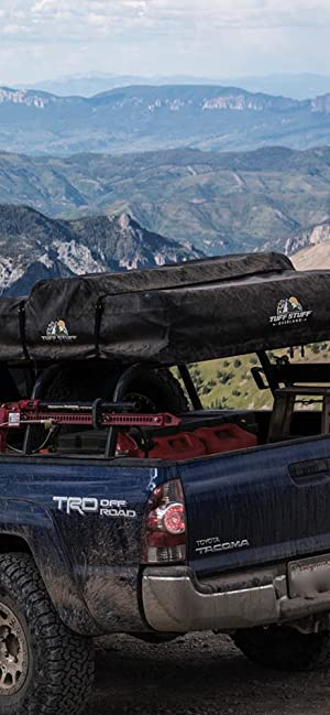 tuff stuff overland rooftop tent driving cover