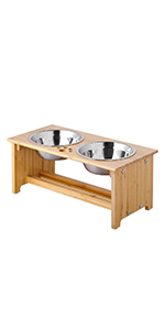7 inch pet bowl stand