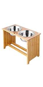 15 inch pet bowl stand