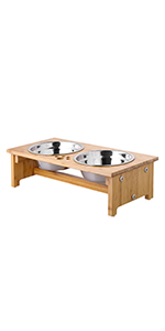 4 inch pet bowl stand