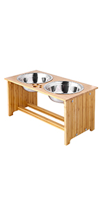 10 inch pet bowl stand
