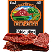 Buffalo Bills Country Cut Mesquite Beef Jerky (3oz pack)
