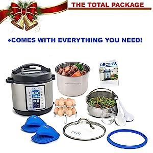 Instant Pot Pressure Cooker Electric