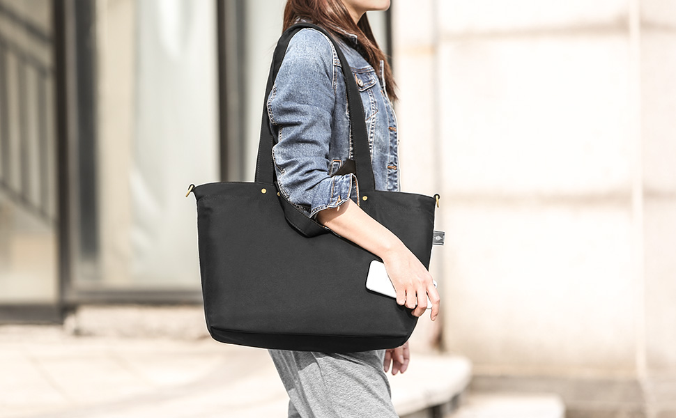 BONTHEE black shoulder bag work Tote