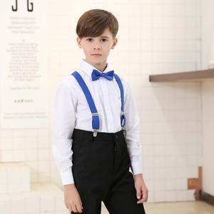 8a1178c31d391 Child Kids Suspenders Bowtie Set - Adjustable Suspender Set for Boys and  Girls