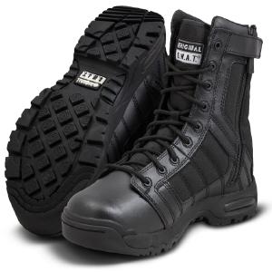 Metro 9 inch side zip boot