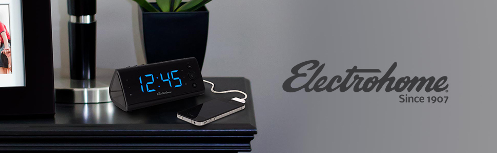 Charging Your Essential Electronic Devices With This USB Charging Alarm  Clock Is So Easy That You Can Literally Do It In Your Sleep.