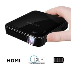 Amazon Com Magnasonic Mini Portable Pico Video Projector