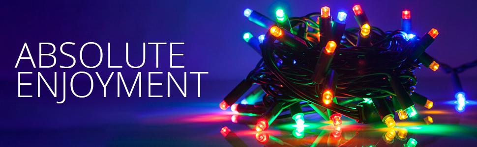 multicolor led christmas lights multicolor string lights
