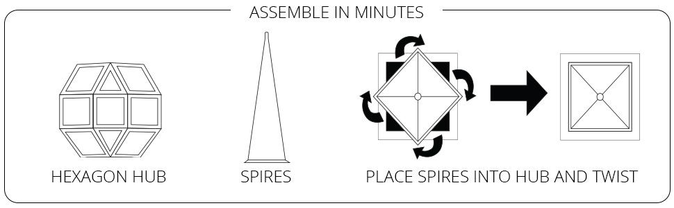 moravian star light instructions