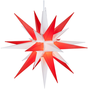 combo color led moravian star lights