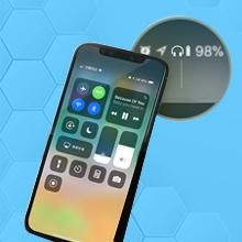 iOS Battery Indicator