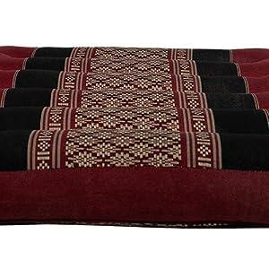 Amazon.com: Masaje Tailandés de rodillas Mat Negro/Rojo ...