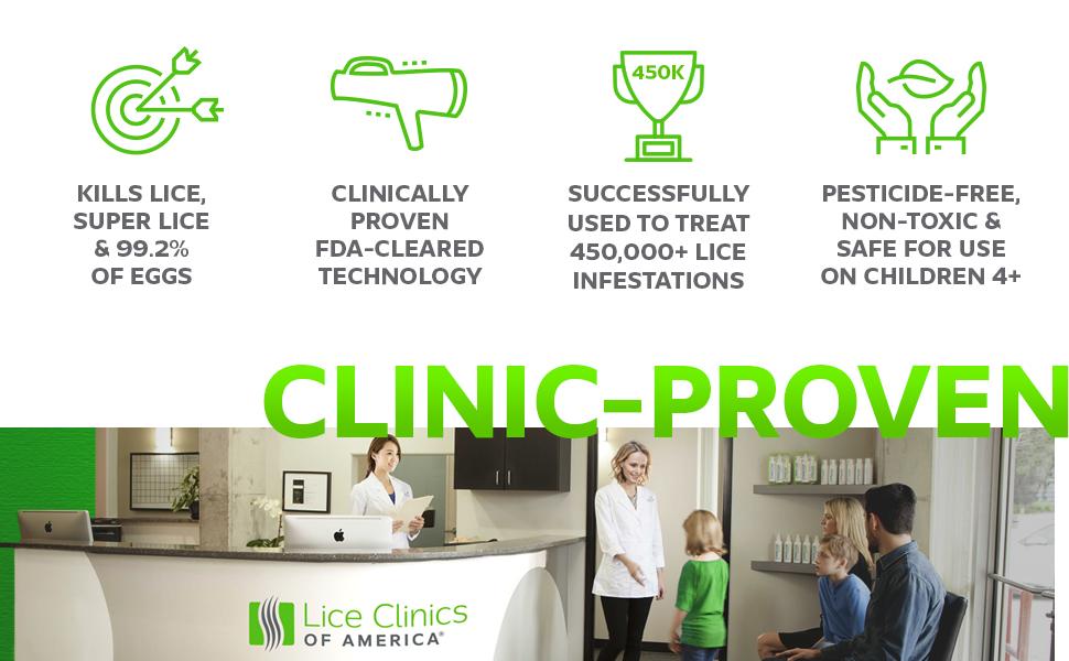 Amazon Lice Clinics Of America Onecure Clinic Proven Lice