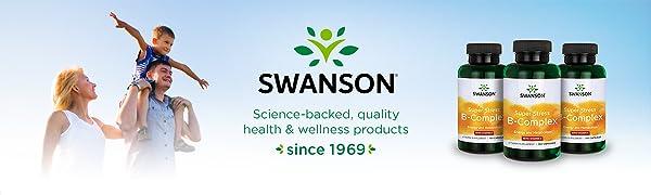 Swanson B Vitamin Stress Complex with Vitamin C Stress Relief Energy Immune Health