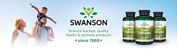 Swanson Health Saw Palmetto Men Prostate Libido Urinary Tract Herbal Supplement