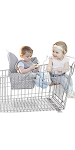Amazon.com: YOUTHINK - Funda 2 en 1 para asiento de bebé ...