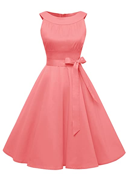 Find Dress Women 1950s Scoop Vintage Rockabilly Retro