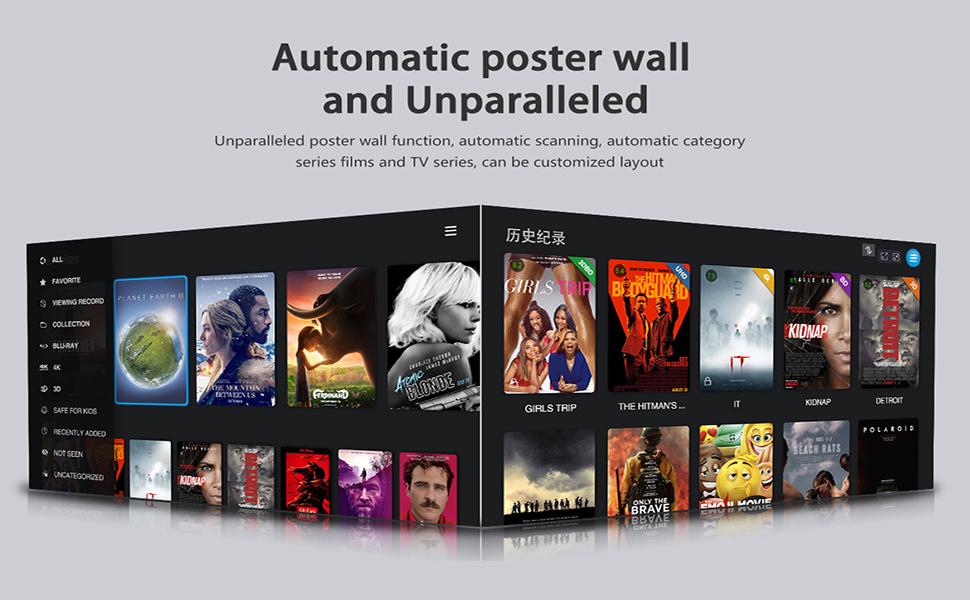 EASYTONE Android 7.1.2 TV Box,2018 Model Smart TV Box Quad-core 64 Bits /1GB+8GB Supporting 4K (60Hz