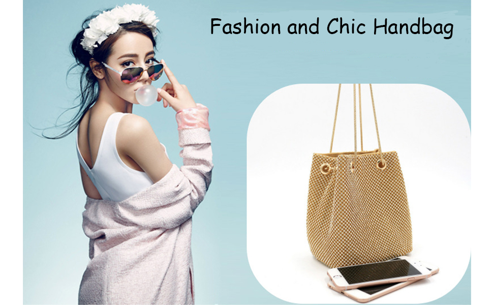 Fashion Women Bridesmaid Lady Girl Bride Evening Clutch Bag for Prom Cocktail Party Wedding