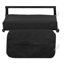 Sheenive Stadium Seats for Bleacher - Wide Padded Cushion Stadium Seats Chairs for Outdoor Bleachers with Leaning Back Support and Shoulder Strap, ...