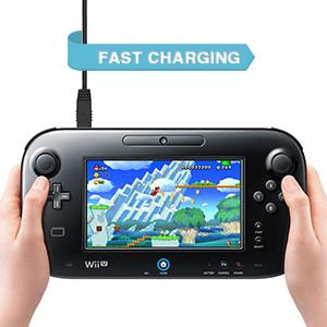 Amazon.com: Cable de carga USB Wii U – 6 amLifestyle 3 M ...