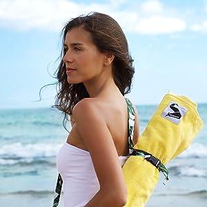 Ready to go beach towel!