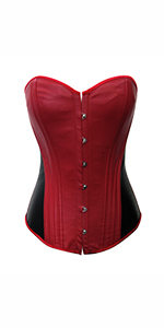 e8745283d6 Chicastic Shimmer   Satin Bustier Corset With Strong Boning · Chicastic  Women s Goth Vintage Steam Punk Rock Faux Leather Corset Bustier ·  Chicastic Women s ...