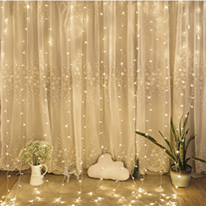 Amazon.com: Twinkle Star 300 LED Window Curtain String ...