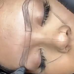 permanent makeup microblading supplies microblading pens microblading kit stencil brow mapping