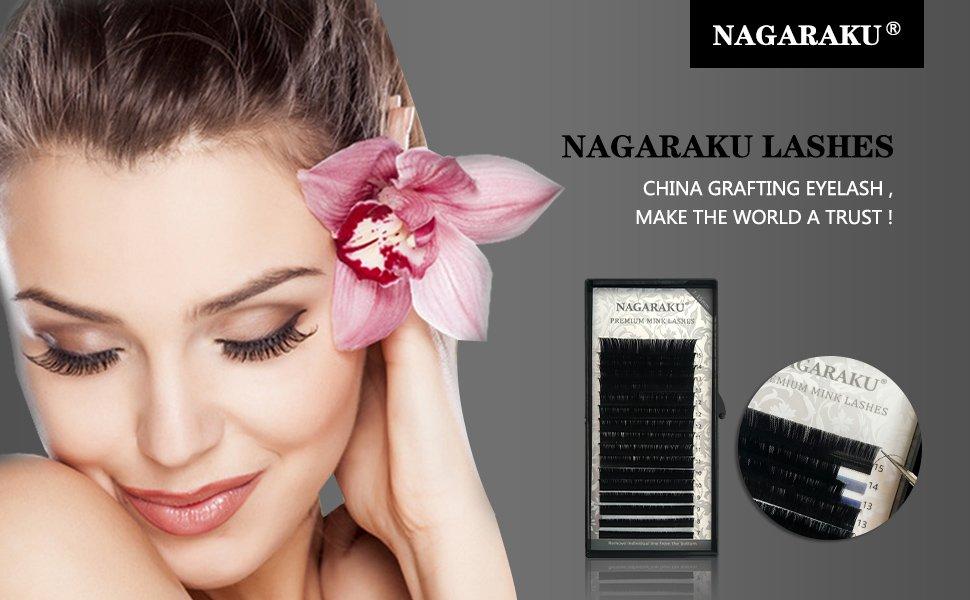Amazon Nagaraku Eyelash Extensions Individual Faux Mink