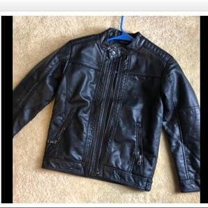 Children's leather jacket
