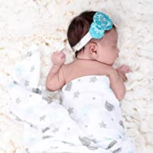 star spots baby swaddles