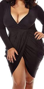 plus size party dress