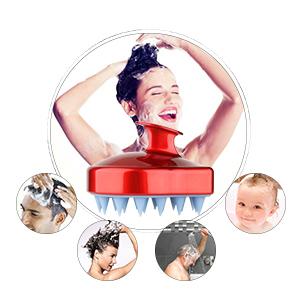shampoo scalp massaging brush