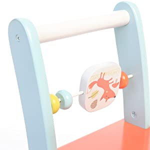 Stand to Walk, Sit to Play, 2-in-1 Baby Walker!