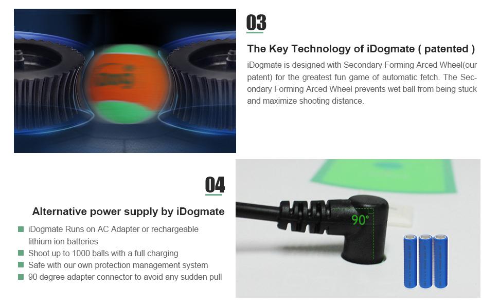 Amazon.com : iDogmate Ball Launcher Automatic Rechargeable