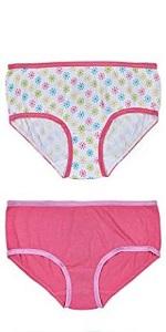 Pack of 10 Trimfit Girls 100/% Cotton Colorful Boyshorts Panties