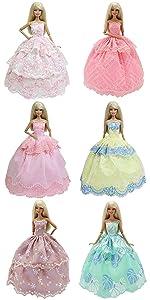 6 pcs dresses