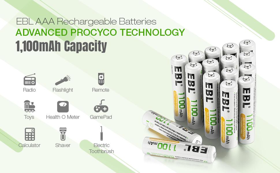 aaa rechargeable batteies, aaa batteries, rechargeable batteries
