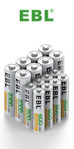 rechargeable aa&aaa batteries