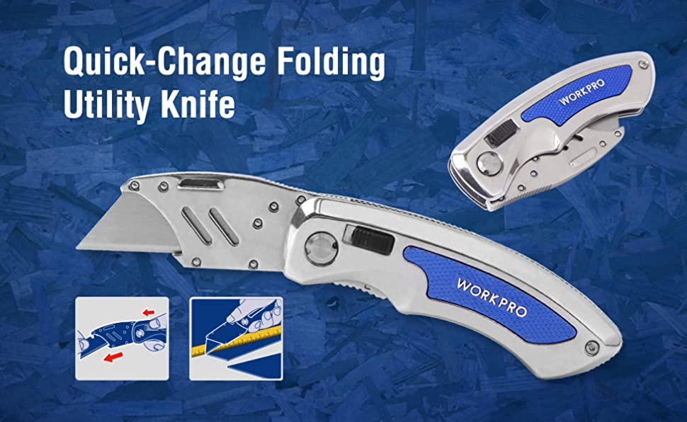 how to change a utility knife blade