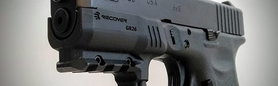 GR26 Glock 26 Rail Adapter